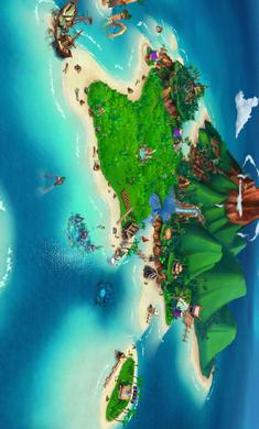 开心农场:热带度假破解版